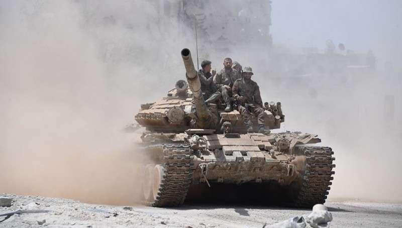 Армия Сирии отразила нападение боевиков в пригороде Латакии