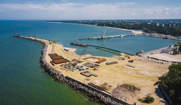 Строительство терминала для круизных судов ипаромов вКалининградской области