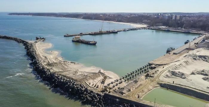 Калининградская область. Строительство терминала для круизных судов ипаромов
