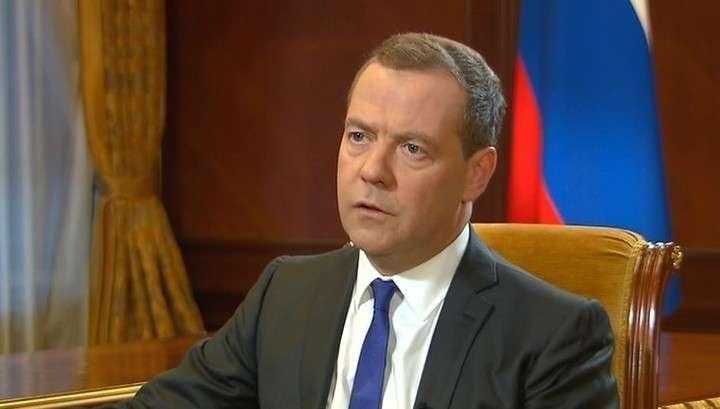 Дмитрий Медведев. Интервью газете