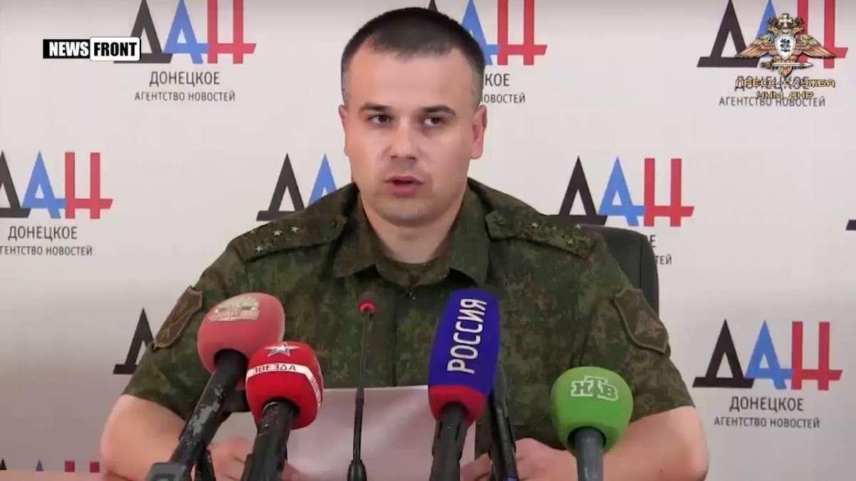 Каратели уничтожили санитарную машину с медработниками на юге ДНР