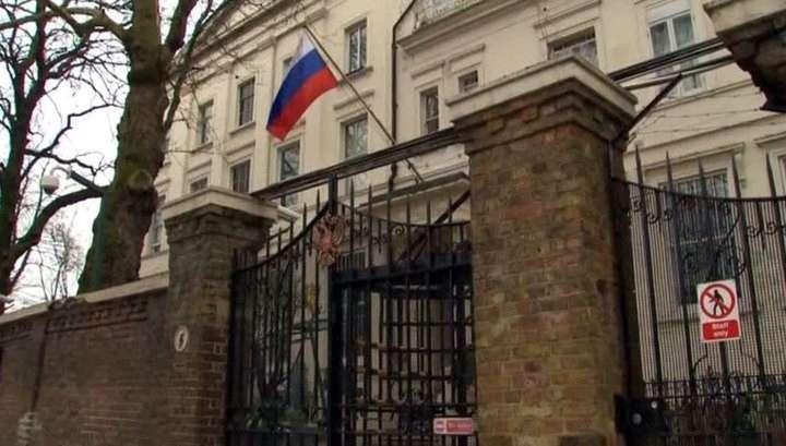 Британия блокирует работу русского дипкорпуса в Лондоне