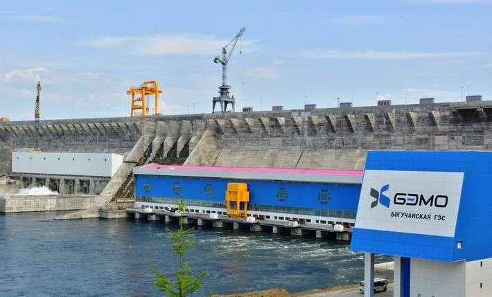 НаБогучанской ГЭС введены вэксплуатацию еще два гидроагрегата