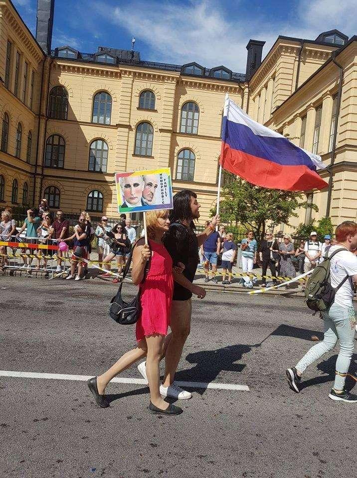 Конец Европы: нагей-парад вШвеции власти обязали выйти военных, полицейских исотрудников МИД(ФОТО)