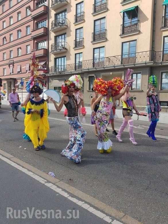Конец Европы: нагей-парад вШвеции власти обязали выйти военных, полицейских исотрудников МИД(ФОТО) | Русская весна