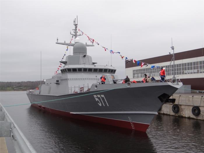 Строительство кораблей и вспомогательных судов для ВМФ России по состоянию на 08.08.2018