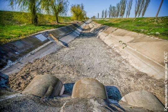 Засуха в Крыму. Как вернуть пресную воду на полуостров?