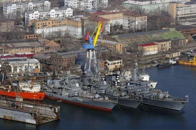 «Дальзавод» провел вкратчайшие сроки плановый ремонт 35 кораблей составляющих основу мощи ТОФ