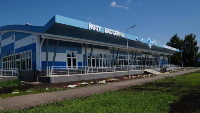Татарстан: одновременно открыли семь новых бассейнов