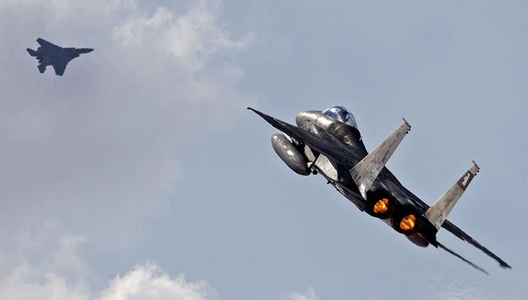Террористический Израиль нанёс массированный ракетный удар по сектору Газа