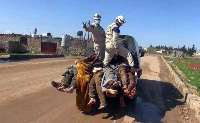 Как террористический Израиль спас от мести Башара Асада лживые «Белые каски»
