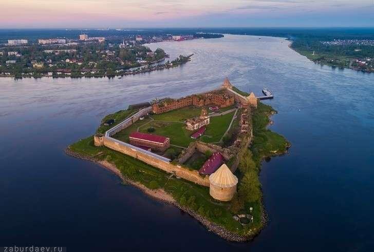 Укрепости Орешек началось строительство причала для круизных судов