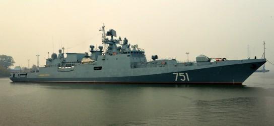 Российский фрегат «Адмирал Эссен» выследил лучшую подводную лодку США – «Огайо»