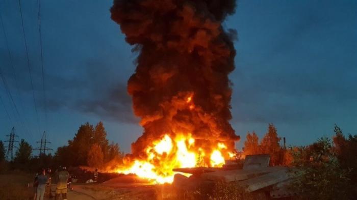 В Эстонии огонь пожирает центральный полигон Сил обороны