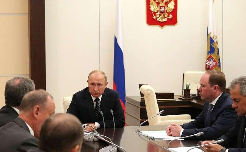 Владимир Путин назвал новые санкции США против России нелегитимными