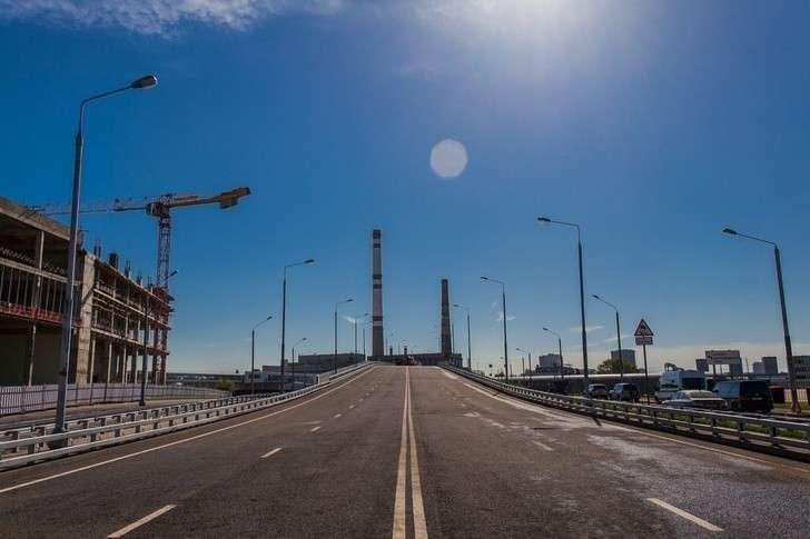 ВМоскве открыт проспект Лихачева ипутепровод через МЦК наЗИЛе