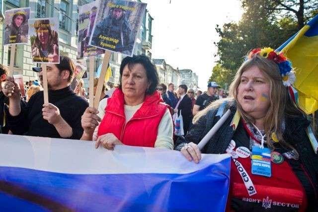 Пробандэровский марш в Москве вызвал активизацию сторонников Русского  мира