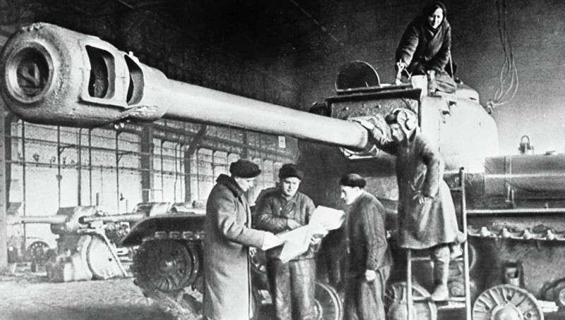 Большой калибр. Оружие, бросившее вызов тяжелым танкам нацистов