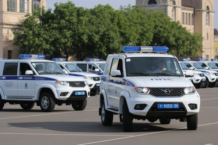 Ставропольская полиция получила50 служебных автомобилей