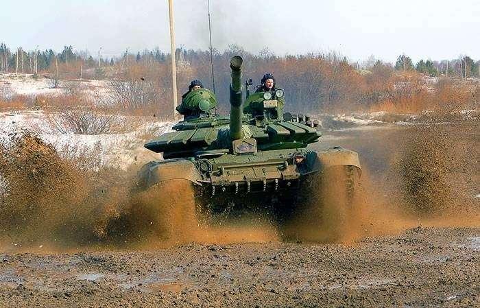 На «Танковом биатлоне» российские танкисты установили новый рекорд скорости