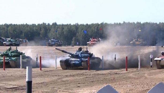 Русские танкисты завоевали первое место в «Танковом биатлоне»