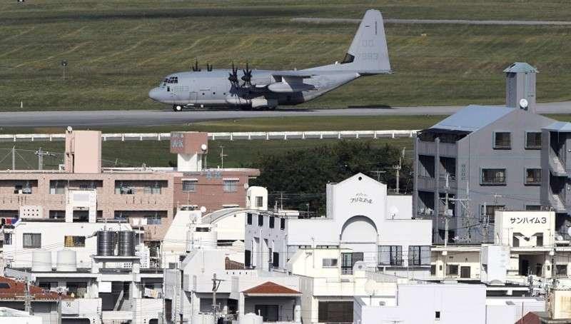 В Японии десятки тысяч человек вышли на митинг против базы США на Окинаве
