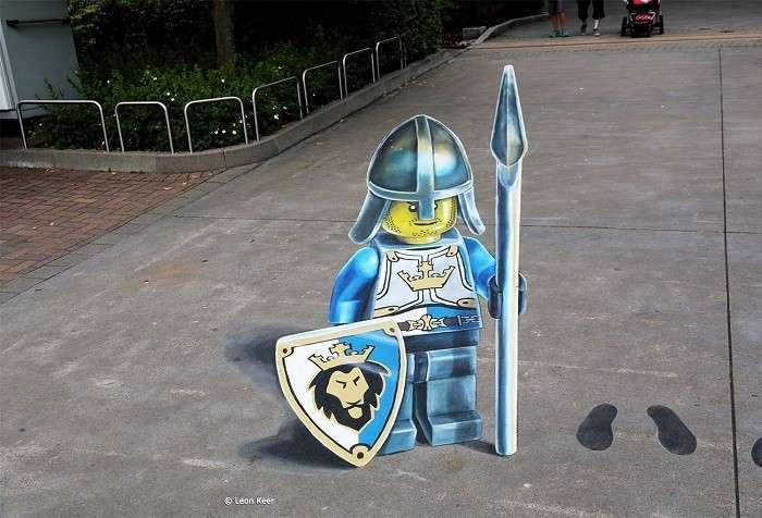 Тема игрушек в парке развлечений Legoland.