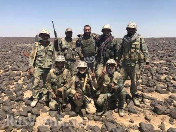 ВКС и армия Сирии выжигают наёмников США | Русская весна