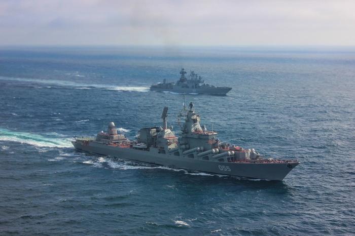 Корабли Северного флота вошли вСредиземное море и движутся к Сирии