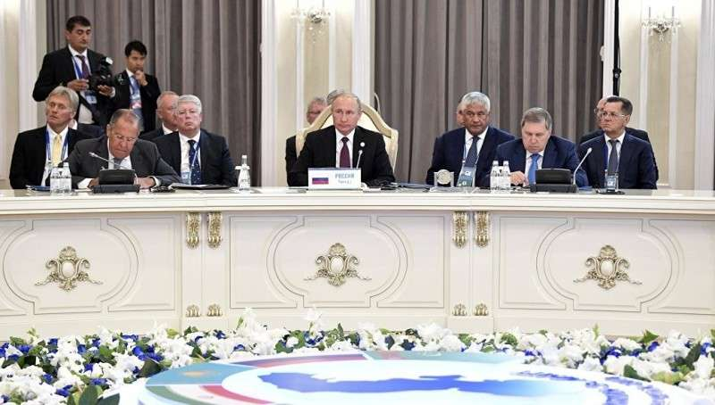 В Актау подписана историческая конвенция о правовом статусе Каспийского моря
