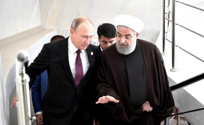 Владимир Путин встретился с Президентом Ирана Хасаном Рухани