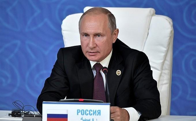 Владимир Путин сделал заявление поитогам Пятого каспийского саммита