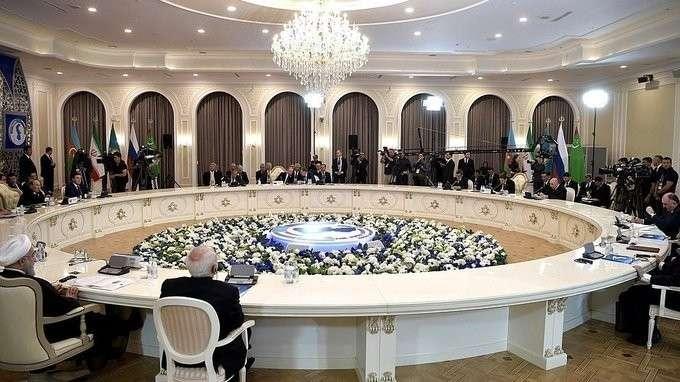 Выступление наПятом каспийском саммите