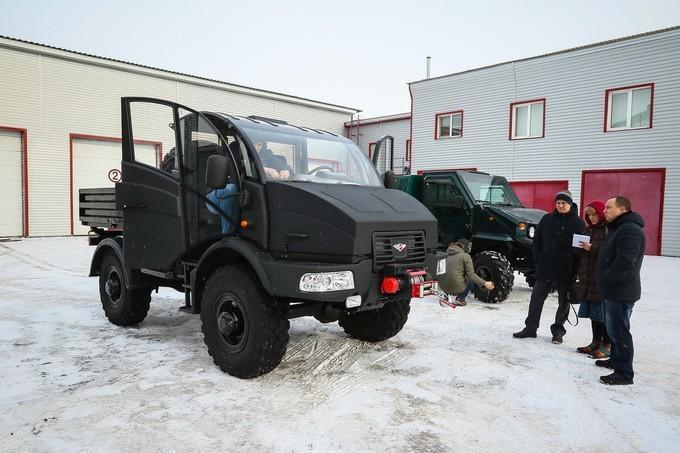 Российский тракторомобиль «Силант» возрождается во Владимире