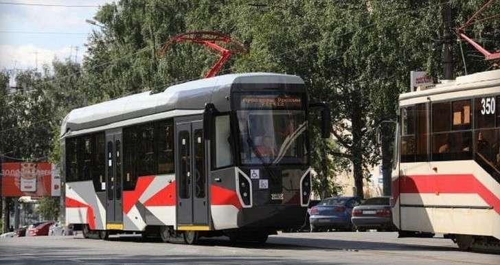 Инновационный трамвай УВЗ модели 71-412 начал тестовые испытания намаршрутах Нижнего Тагила