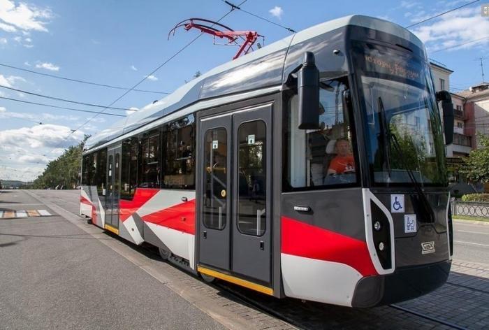Инновационный трамвай УВЗ модели 71-412 начал испытания намаршрутах Нижнего Тагила