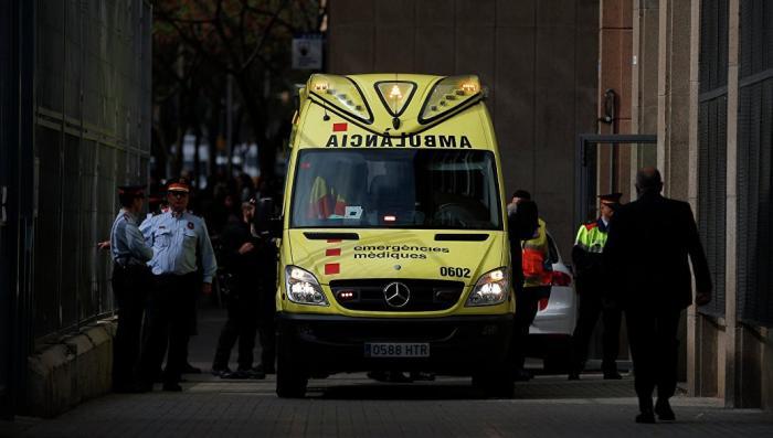 Испания. В результате обрушения пострадали 300 человек. Возможен теракт