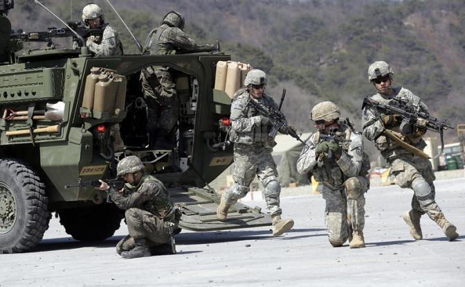 Американских солдат начали усиленно натаскивать на Россию