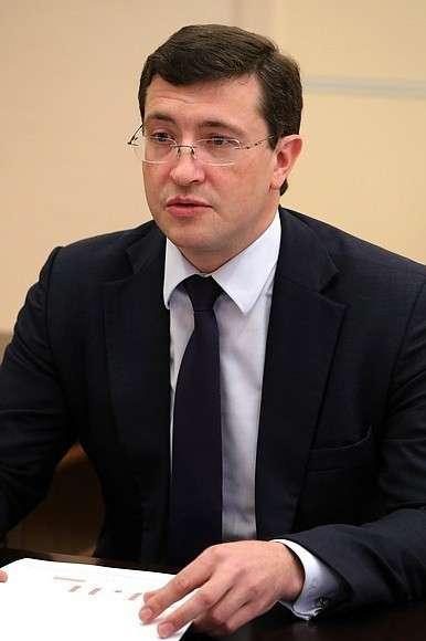 Временно исполняющий обязанности губернатора Нижегородской области Глеб Никитин.