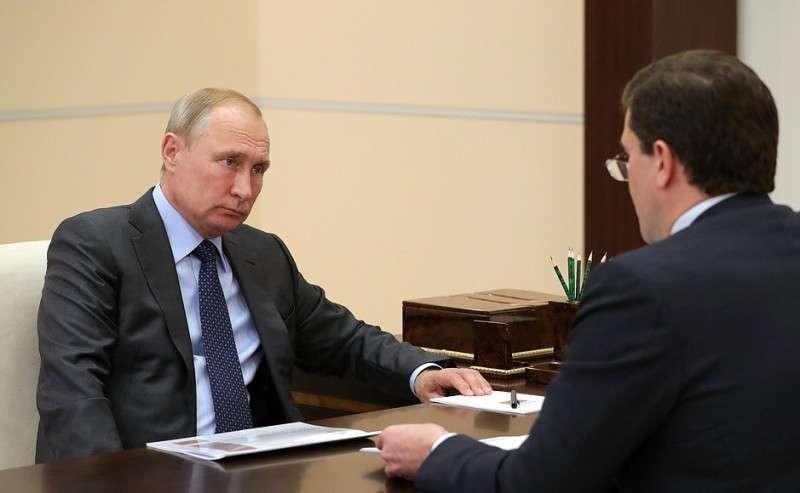 Свременно исполняющим обязанности губернатора Нижегородской области Глебом Никитиным.