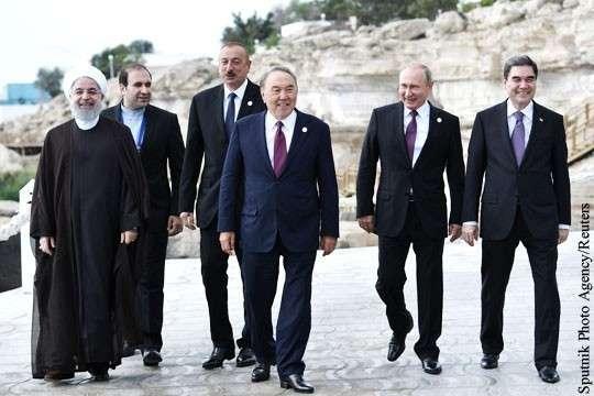 Почему на Западе объявили раздел Каспия победой России
