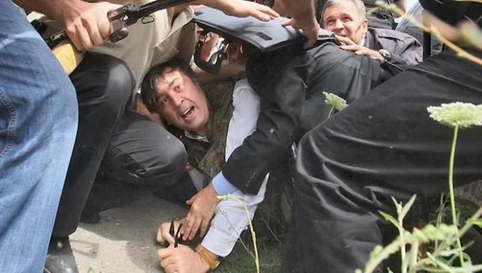 Вино, война 08.08.08 и истеричка Саакашвили. Специальный репортаж