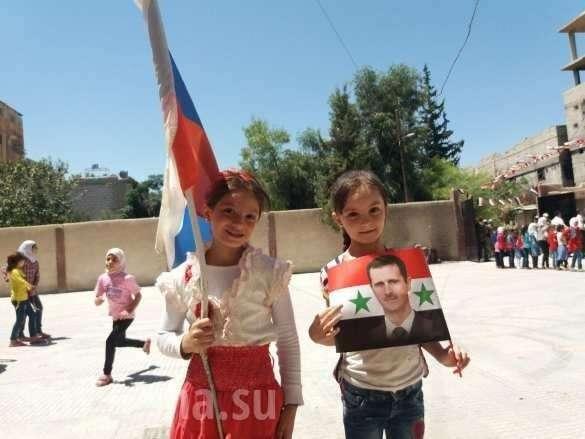 Как простые сирийцы воспринимают Россию после 3 лет операции ВКС | Русская весна