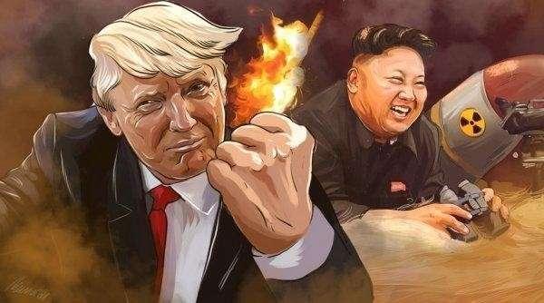 Пустой пи-ар пиндосов или Сказ о том, как Ын Трампа обыграл