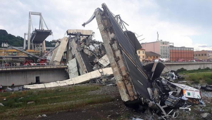 Обвал моста в Генуе: свидетельства очевидцев