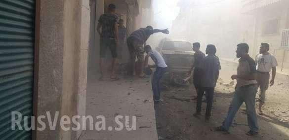 Идлиб: страшные взрывы сотрясают города, убиты сотни боевиков и местных жителей 18+ | Русская весна