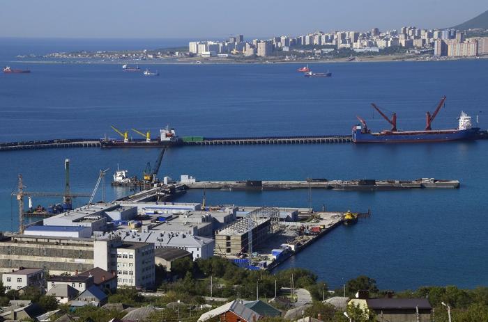 Ход строительства Новороссийской военно-морской базы