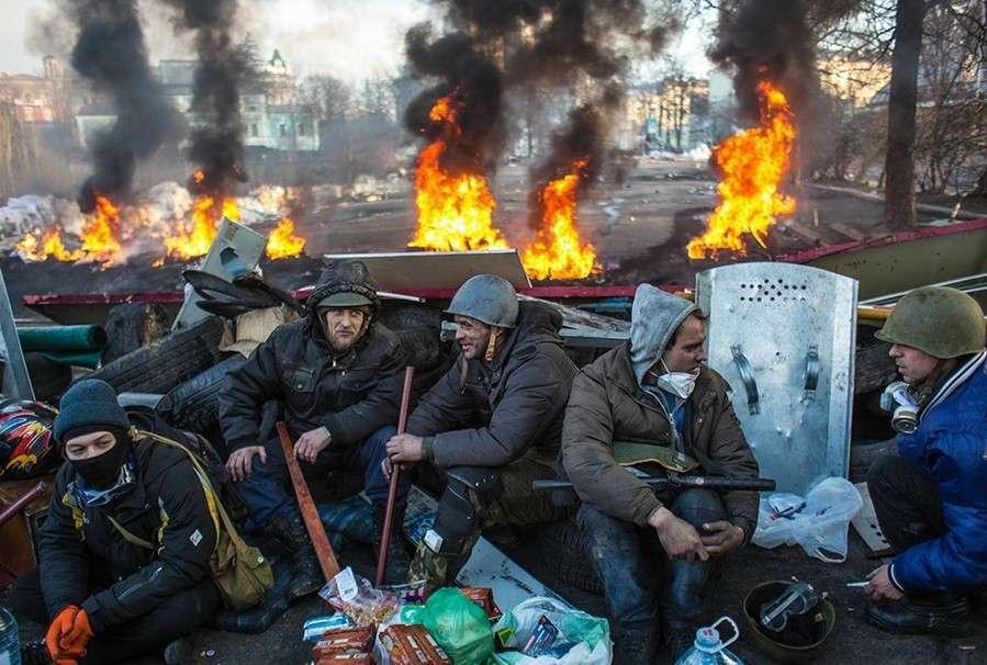 Воинственные клоуны Евромайдана