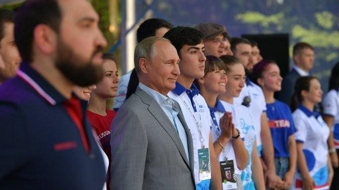 Владимир Путин принял участие в работе образовательного форума «Машук-2018»