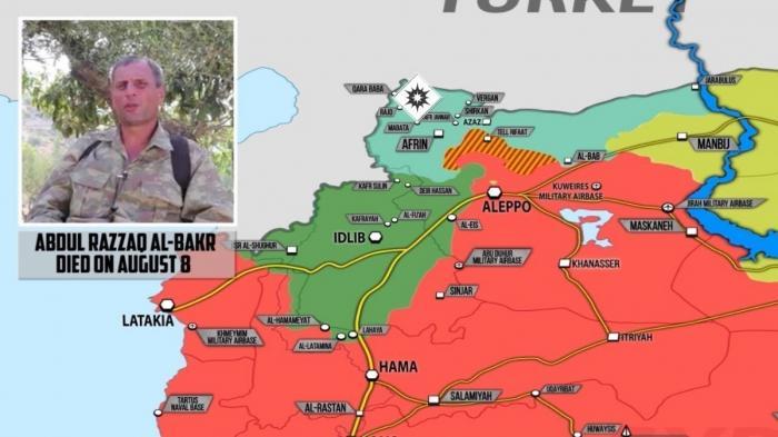 Сирия. Отчёт курдов о засадах на протурецких наёмников